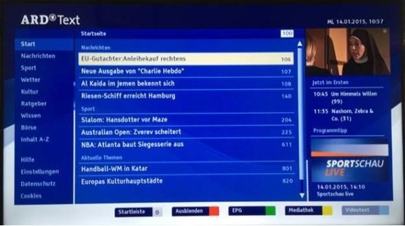 Meer HbbTV via Nederlandse kabel