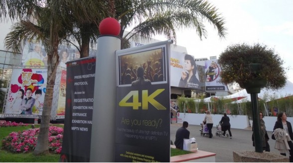 MIPTV-beurs in teken 4K Ultra HD