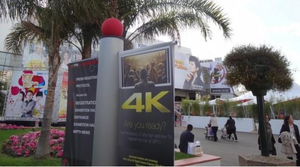 MIPTV-beurs in teken 4K Ultra HD