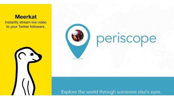 Twitter introduceert app Periscope als reactie op Meerkat