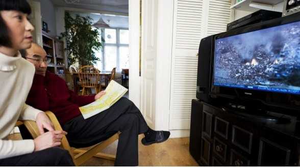 Nederlandse tv-markt zet daling in