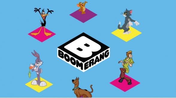 Nederlandstalige versie Boomerang bij Ziggo in etalage