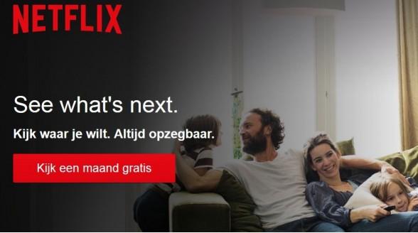 Recordgroei voor Netflix