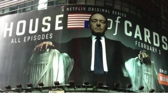 Netflix koopt vijfde seizoen successerie House of Cards