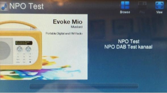 Nieuw NPO-kanaal op DAB+ netwerk