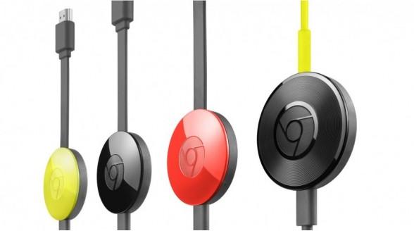 Nieuwe Chromecast en Chromacast Audio gepresenteerd