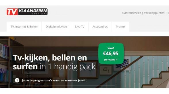 Nieuwe website voor TV Vlaanderen