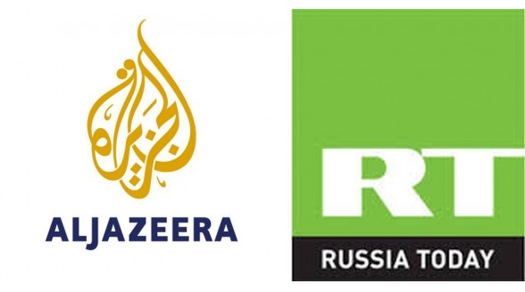 Al Jazeera en Russia Today moeten broekriem aanhalen