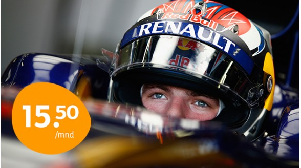 NOS had Formule 1-race Verstappen op open net gewild