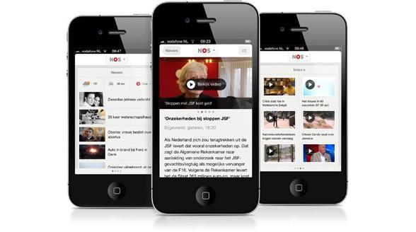 Vernieuwde NOS app ook snel in App Store