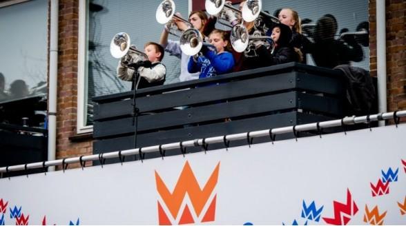 NOS en RTV Rijnmond uitgebreid bij Koningsdag