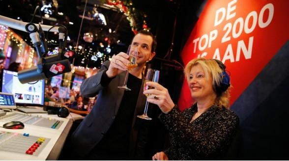 NPO Radio 2 Top 2000 op tv, radio en internet
