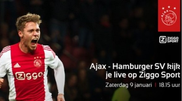 Voetbalduels Ajax, Barcelona en Real Madrid op Ziggo Sport