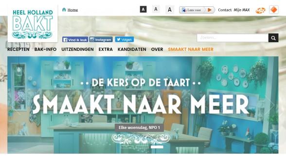 Omroep Max heeft rechten Heel Holland bakt nog drie jaar