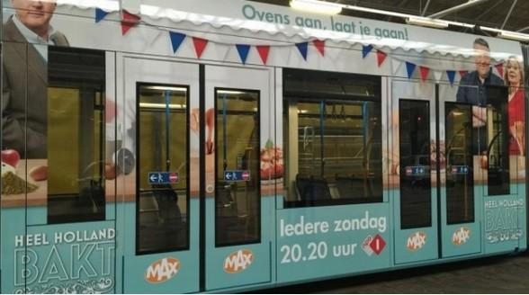 Omroep Max zet geurkanon in voor Heel Holland bakt