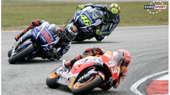 Ontknoping Moto GP live bij Eurosport