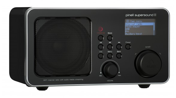 Pinell Supersound II+ biedt DAB+, internetradio en Spotify