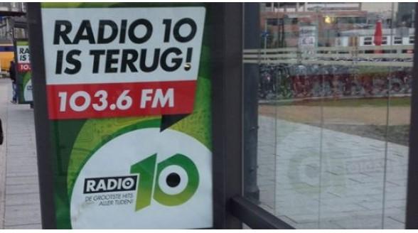 Radio 10 terug naar radiobedrijf John de Mol