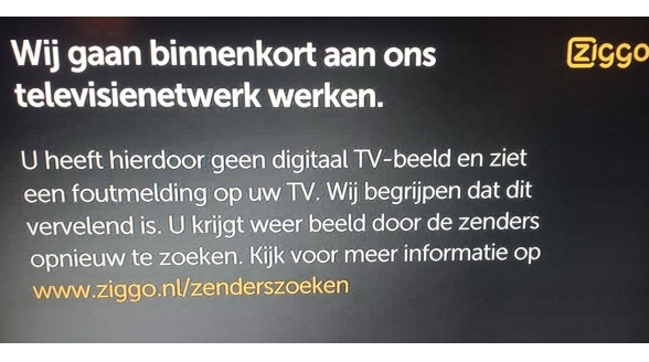 Regionale omroepen naar Sander Dekker om storing Ziggo