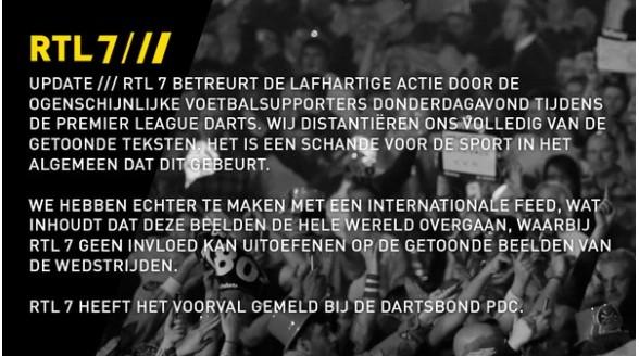 RTL spreekt schande van beledigen doelman Feyenoord