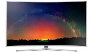 Samsung UE65JS9000: Curved tv met wauw-factor
