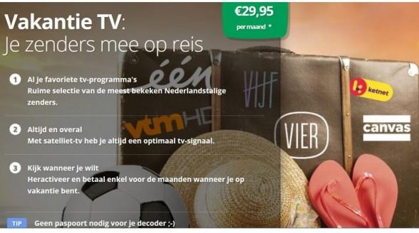 TV Vlaanderen biedt nieuw abonnement per maand