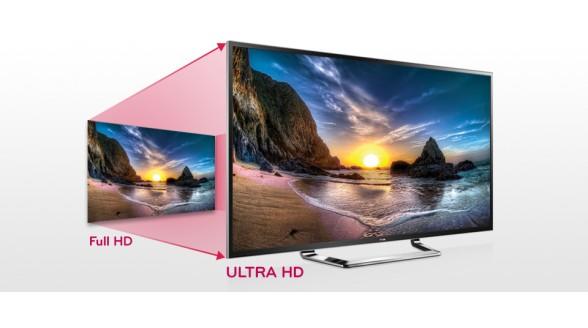 Verkoop Ultra HD televisies stijgt naar zeventig procent
