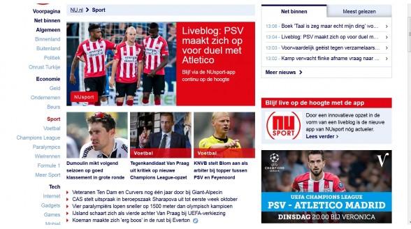 Vernieuwde app NuSport en SBS beschikbaar