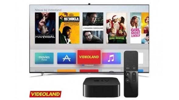 Videoland ook op mediaspeler Apple TV