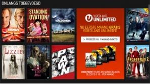Videoland Unlimited: Videoland Unlimited nog vrij beperkt