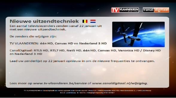 Vlaams informatiekanaal op satelliet