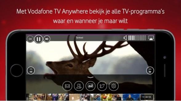 Vodafone stapt over op Amino tv-decoder