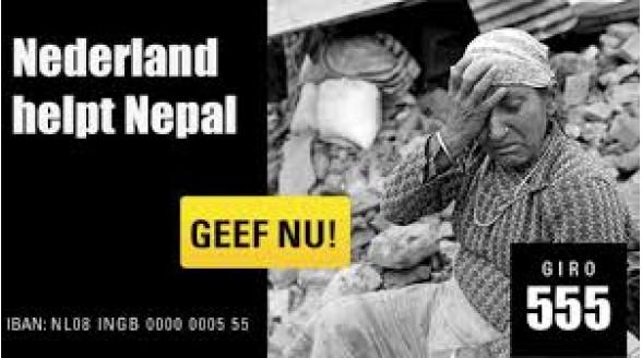 Vrijdag 1 mei actiedag voor Nepal