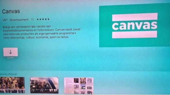 VRT loopt voor op NPO met app voor Apple TV