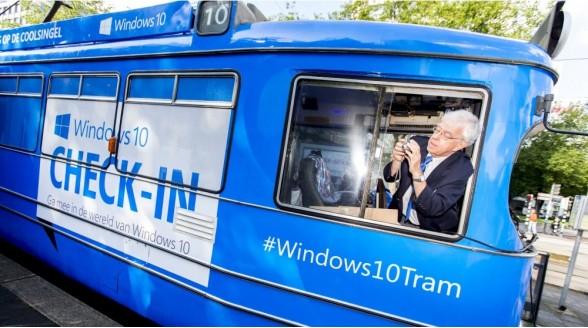 Windows 10 zet multimedialiefhebber voor het blok