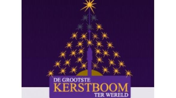 Zendmast IJsselstein wordt kerstboom met led lampen