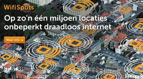 Ziggo breidt aantal WifiSpots in Amsterdam uit