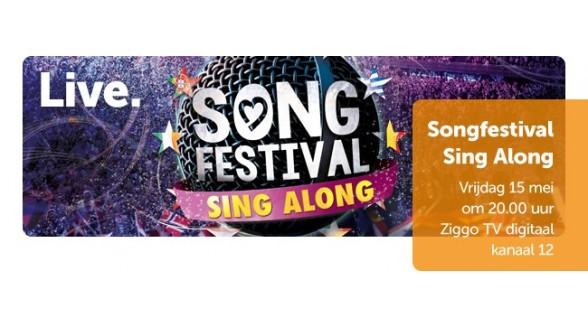 Ziggo Dome Songfestival meezingconcert live bij Ziggo
