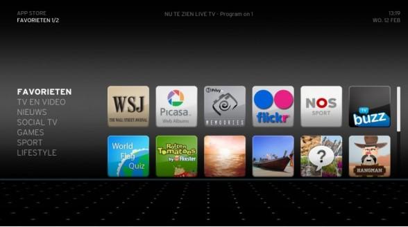 Ziggo gaat Horizon-apps uitbreiden