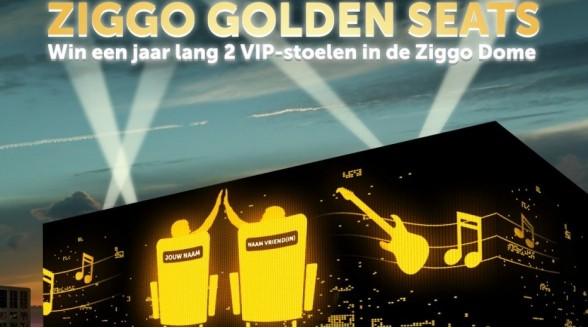 Ziggo geeft VIP-stoelen in Ziggo Dome weg