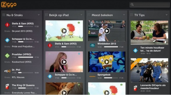 Ziggo gestopt met Live TV-app